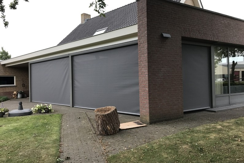 Veranda met screens